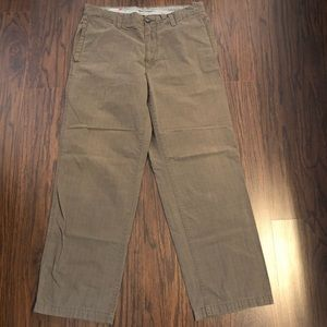Gap khakis relaxed fit pants 34X30 actual 36W